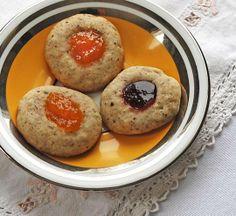 Easy, Delicious Hazelnut Rosemary Jam Cookies