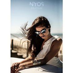 NYOS Campaign SS'15 ☀️ Model IBIZA pure white  www.nyos.pt  #summer #vibe #bikini #trikini #nyos