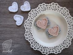 Pretty Photos, Napkin Rings, Valentines Day, Crochet Earrings, Holidays, Heart, Valentine's Day Diy, Holidays Events, Valentines