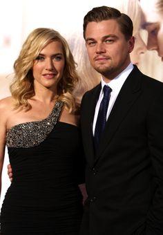 Kate Winslet and Leonardo DiCaprio--2008