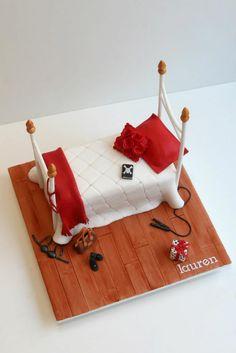 Teenager's bedroom cake