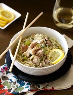 Lemon Chicken & Ramen Noodle Soup | 27 Better Ways To Eat Ramen