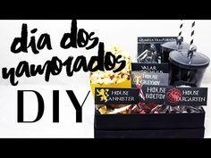 DIY: Dia dos Namorados - Sugestão de Presente Kit Cinema - Game of Thrones - YouTube