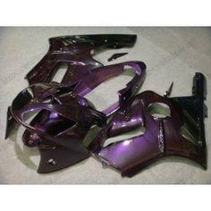 Kawasaki NINJA ZX12R 2002-2005 ABS Fairing - Flame - Purple | $579.00