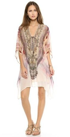 lace caftan on Wanelo