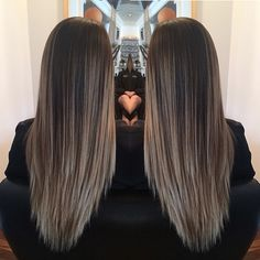 Gorgeous long balayge hair