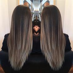 Gorgeous long balayge hair