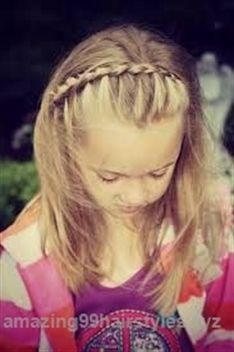 long hairstyles for school – Easy Hairstyles School Picture Hairstyles, School Hairdos, Quick Hairstyles For School, Cute Hairstyles For Kids, Easy Hairstyles For Medium Hair, Fancy Hairstyles, Little Girl Hairstyles, Amazing Hairstyles, Birthday Hairstyles