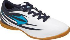 Tenis Topper Indoor Rapina III Branco e Azul 98f792eec8018