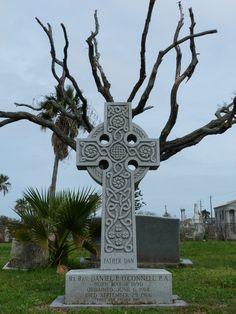 Old Graveyard in Galveston, Texas.