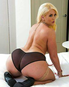 ass spread milf big Blonde