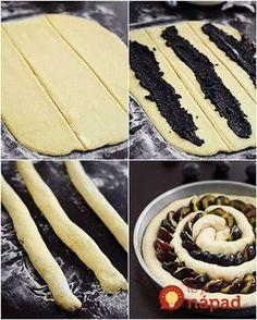 Prstohvat soli: Kolač sa šljivama i makom Albanian Recipes, Croatian Recipes, Sweet Pie, Sweet Bread, Croatian Cuisine, Bread Shaping, Kolaci I Torte, Prune, Bread And Pastries