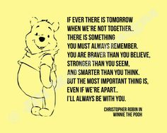 Christopher Robin Winnie the Pooh Quote Printable by jillmarie7276, $4.99