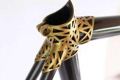 Sleek 3D-Printed Bikes - The New 'VRZ 2 BELT' Titanium Bicycle Can Be Printed at Home