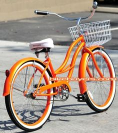 I want this so bad!!! Happiness comes with a basket. <3