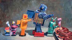 Unscheduled Maintenance - Eric Joyner Robots and Donuts Artist