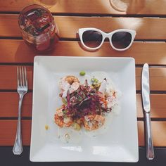 Shrimp succotash a