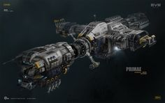 Primae - Noctis ship design, Georg Hilmarsson on ArtStation at http://www.artstation.com/artwork/primae-noctis-ship-design