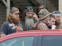 Duck Dynasty patriarch Phil Robertson says the comments he made that led to his suspension from the hit AE show were nothing more than a recitation of Scripture, and he will not apologize for what the Bible says. Phil Robertson, Robertson Family, Duck Dynasty Family, Duck Season, Bible Study Group, Duck Commander, Shots Fired, Charlie Sheen, Shopping Day