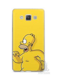 Capa Samsung A5 Homer Simpson Correndo Pelado