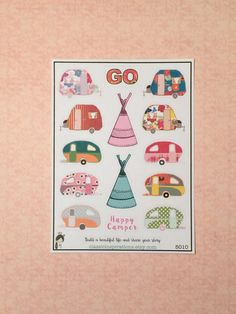 5010 - Happy Camper by classicinspirations on Etsy