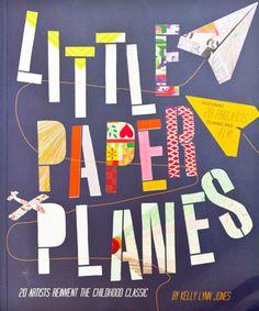 little paper planes, planes, airplane, book, craft book, craft, diy,