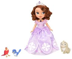 10-inch Talking Disney Sofia and Animal Friends—less than $30.  For Lilly, Christmas 2015.