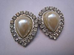 Marie Antoinette Lot of Two Vintage French Rhinestone by Glamaroni, $16.00