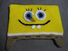Bob the Sponge Hat Tutorial  (cuz kids love the Sponge... )
