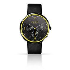 KANSKE BLACK SUPREME 201 - Pre-order now at http://kanskedenmark.com/products/kanske-watch-black-neon
