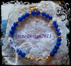 Blue Jade & Butterfly from IreneDesign2011 by DaWanda.com