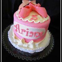 Ballet themed cake.