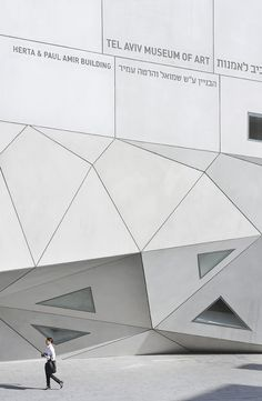 Tel Aviv Museum of Art  Tel Aviv - Israel By Preston Scott Cohen Via Hufton + Chow architectural Photographs