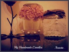My Handmade Candles!!