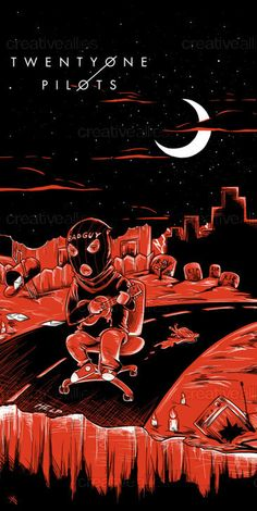 TWENTY+ONE+PILOTS+Poster+by+VON.HAHN.SHINDIG+on+CreativeAllies.com