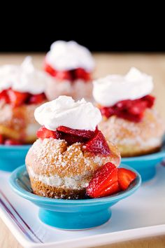 Udi's Gluten Free Strawberry Shortcake Sensations | Udi's® Gluten Free Bread #WhattheHack