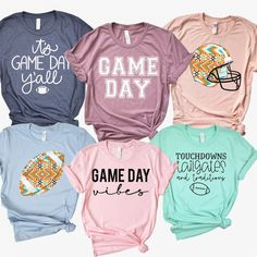 Disclosure: Affiliate links are used in this post. Any purchase you make using these links supports this site. Football Mom Shirts, Football Love, Football Sister, Football Tailgate, Football Quotes, Football Season, Fall Shirts, Cute Shirts, School Spirit Shirts