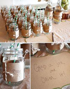mason jar wedding reception decor ideas