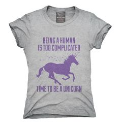 Time To Be A Unicorn T-Shirt, Hoodie, Tank Top
