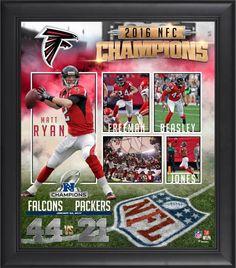 NFL Atlanta Falcons Julio Jones 8-Card Plaque 12 x 15-Inch