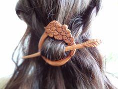 spring fairy mori girl gypsy boho  flower hair by theancientmuse, $36.80