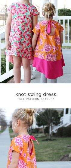 Knot Swing Dress – Free Pattern