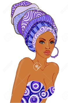 Find Portrait Beautiful African American Woman Turban stock images in HD and millions of other royalty-free stock photos, illustrations and vectors in the Shutterstock collection. Beautiful African Women, African Beauty, African Fashion, African Style, Black Girl Art, Black Women Art, African Quilts, African Art Paintings, Black Art Pictures