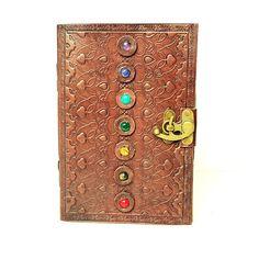 Chakra Stone Leather Journal