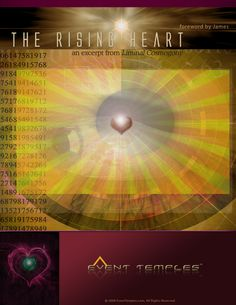 The cover art for the e-paper The Rising Heart.