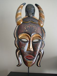 African mask by visual guy, via Flickr