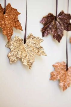 Glittery Garland  - CountryLiving.com