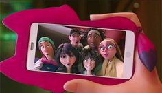 I just noticed....... look at the gap between Tadashi and Wasabi......