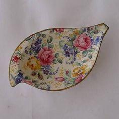James Kent Chintz Small Dish - Rosalynde pattern - spoon rest Spoon Rest, Dish, Tableware, Pattern, Ebay, Dinnerware, Dishes, Plates, Model