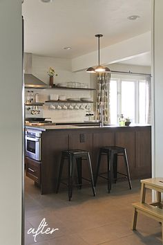 Montana Prairie Tales - Montana Prairie Tales Blog - kitchen before and after